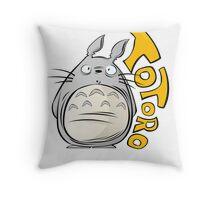 Totoro! Throw Pillow