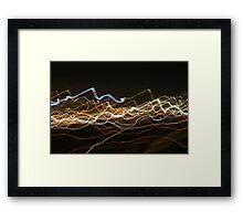Heartbeat of the city Framed Print