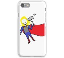 Helena Draws Thor iPhone Case/Skin