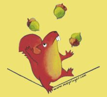 Sally Squirrel Kids Tee