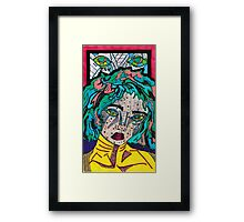 Comic goddess  Framed Print