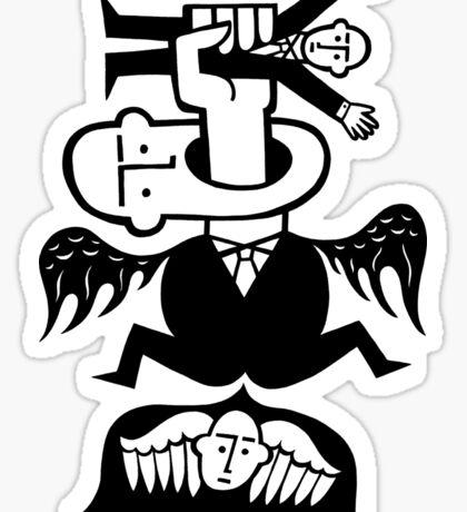 Making Angels Sticker