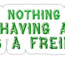 Trees Nature Cool Quote Friendship Green Sticker
