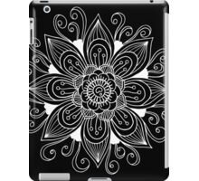 Floral mandala ornament iPad Case/Skin
