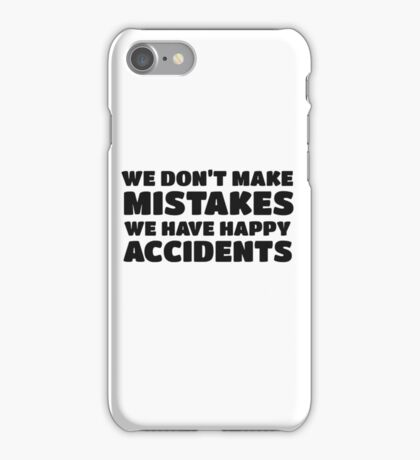 Bob Ross Cool Quote Happy Chill Peace iPhone Case/Skin