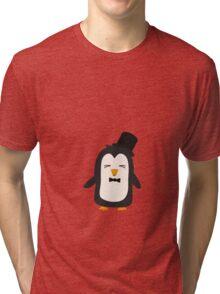 Penguin with suit   Tri-blend T-Shirt