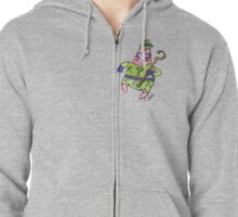Patrick Star The Riddler Zipped Hoodie