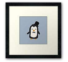 Penguin with suit   Framed Print