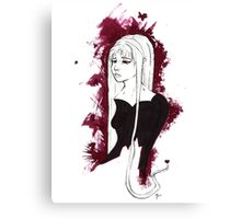 Her Name Was Sorrow Canvas Print