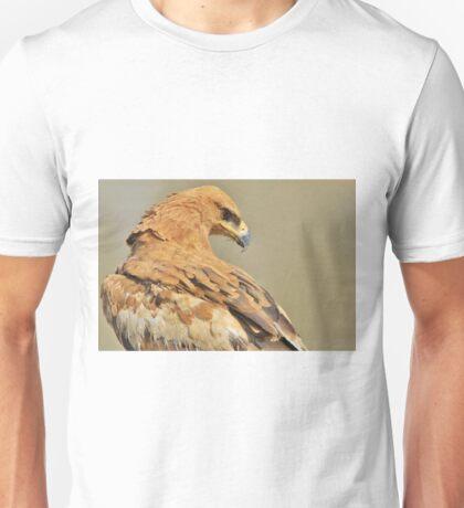 Tawny Eagle - Majestic - African Wild Bird Background Unisex T-Shirt