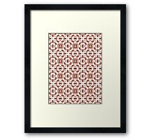 Cuts and Bruises Framed Print