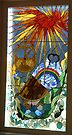 Stained glass artwork, Mossel Bay, South Africa (2) by Margaret  Hyde