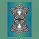 Ambigram Dreams, Upside-Down Art, Topsy-Turvy Art  by L R Emerson II