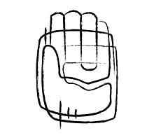 Human hand abstract illustration Photographic Print