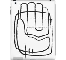 Human hand abstract illustration iPad Case/Skin