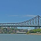Storey Bridge, Brisbane, Qld, Australia (Panorama) by Margaret  Hyde