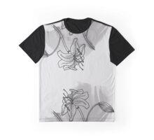 Flower II (B&W) Graphic T-Shirt