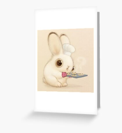 Baker Bunny Greeting Card