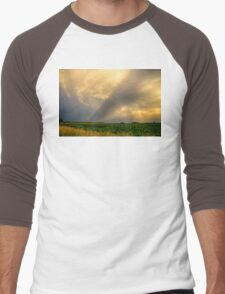 Farmers Weather Optics Men's Baseball ¾ T-Shirt