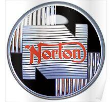 Norton Motorcycles Vintage British Classic Poster