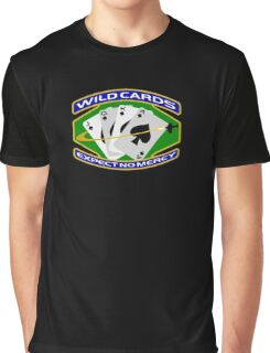 58th Squadron - 'Wildcards' Logo Graphic T-Shirt