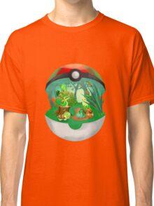 Pokemon: Grass Starters Home Classic T-Shirt