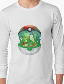Pokemon: Grass Starters Home Long Sleeve T-Shirt
