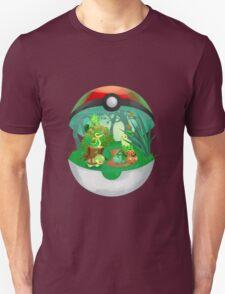 Pokemon: Grass Starters Home Unisex T-Shirt