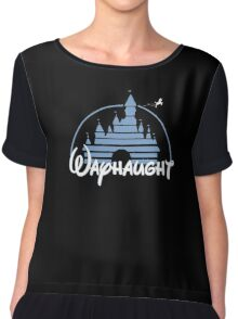 WayHaught - Cartoon version.  Chiffon Top