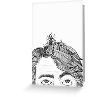 HeadBand Greeting Card