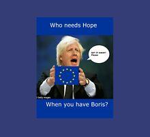 Boris Johnson, scared Brexit Unisex T-Shirt