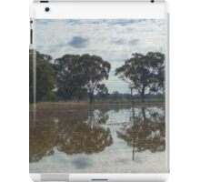 Reflections in the flood iPad Case/Skin