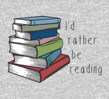 I'd Rather Be Reading Kids Tee