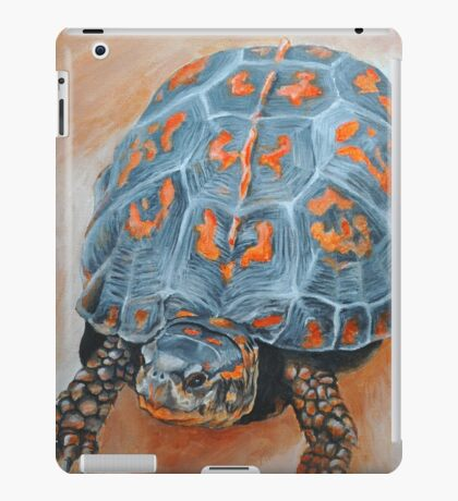 Box Turtle Taking A Walk iPad Case/Skin