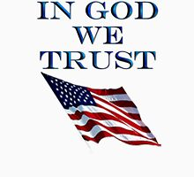 American, Official MOTTO, In God we trust, USA, US, America, Americana, Unisex T-Shirt