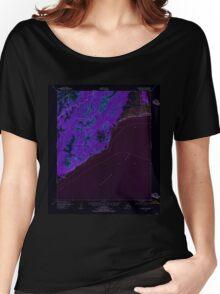 USGS TOPO Map Alaska AK Solomon C-1 359294 1950 63360 Inverted Women's Relaxed Fit T-Shirt