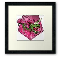 Mutant Zoo - Unicornus Rex Framed Print