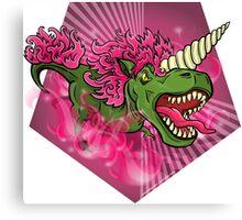 Mutant Zoo - Unicornus Rex Canvas Print