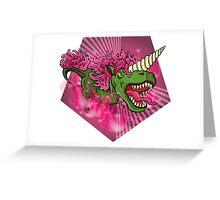 Mutant Zoo - Unicornus Rex Greeting Card