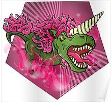 Mutant Zoo - Unicornus Rex Poster