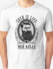 Ned Kelly - Original Outlaw Design T-Shirt