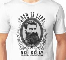 Ned Kelly - Original Outlaw Design Unisex T-Shirt