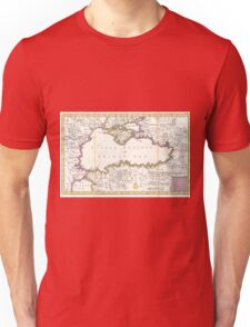 Vintage Map of The Black Sea (1747) T-Shirt