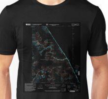 USGS TOPO Map Alaska AK Sumdum B-2 359370 2000 63360 Inverted Unisex T-Shirt