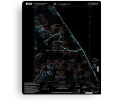 USGS TOPO Map Alaska AK Sumdum B-2 359370 2000 63360 Inverted Canvas Print
