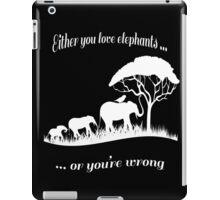 T-shirt Elephant iPad Case/Skin