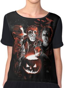 Super Villains Halloween Chiffon Top