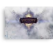 Victory / LoL Canvas Print