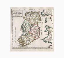 Vintage Map of Ireland (1748) Unisex T-Shirt