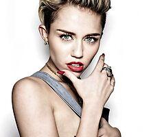 Miley Cyrus  by KingMfMike